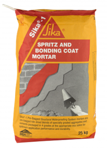 Sika 1 Spritz and Bonding Mortar