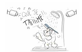 chanter sous la douche