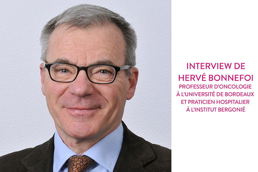 Octobre Rose : Cancer du sein. Interview du Pr. Hervé Bonnefoi, oncologue