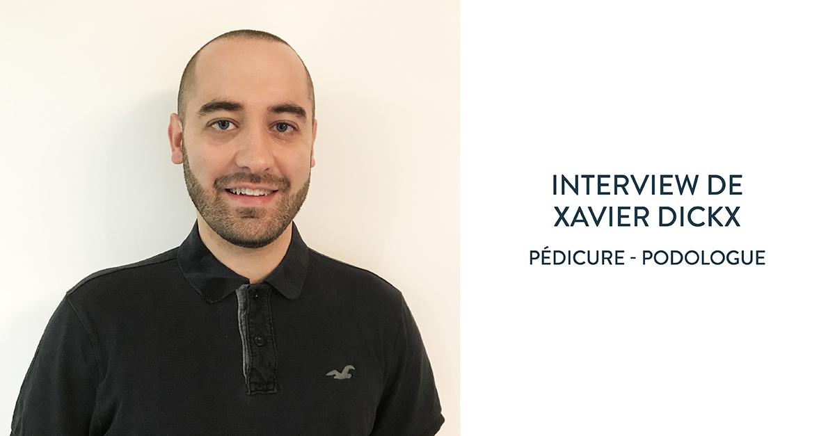 Xavier Dickx nous explique le rôle du pédicure-podologue
