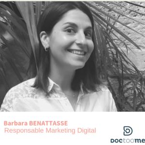Barbara Benattasse Responsable marketing digital