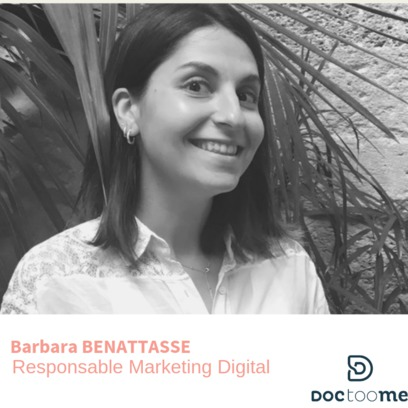 Barbara Benattasse Responsable marketing digital doctoome