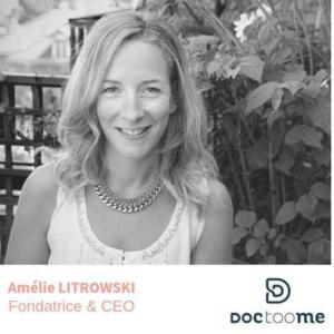 Amelie Litrowski Fondatrice de Doctoome