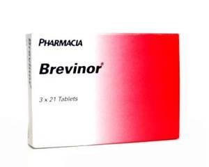 Brevinor (ethinylestradiol en norethisterone)