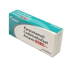 Paracetamol/Codeïnefosfaat