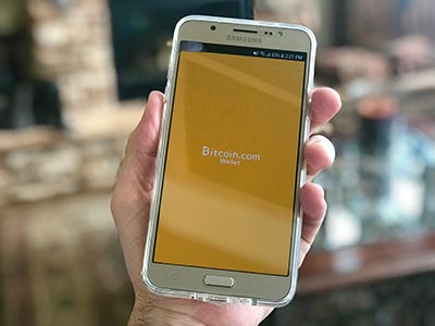mobile wallet von bitcoin.com
