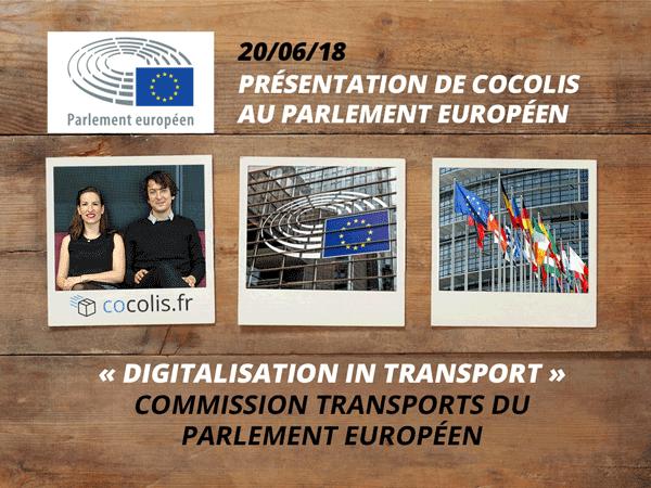 Cocolis au Parlement Européen