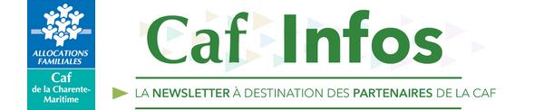 Caf Infos. La newsletter à destination des partenaires de la CAF