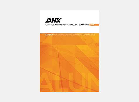 Catalogue aluminium DHK