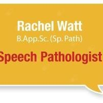Rachel Watt - speech pathologist