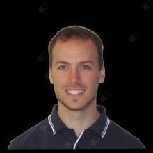 Matt Fagg, physiotherapist Wallsend