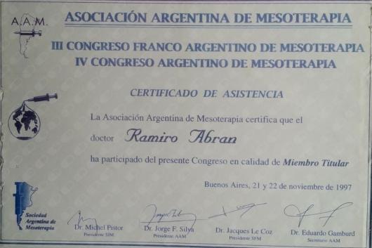Ramiro Diego Abran  - Multimedia