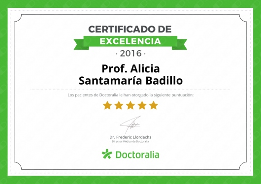 Alicia Santamaría Badillo  - Multimedia
