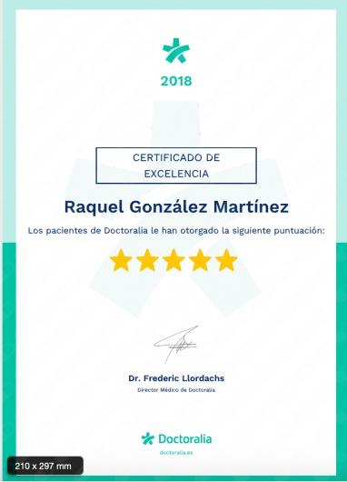 Raquel González Martínez - Multimedia