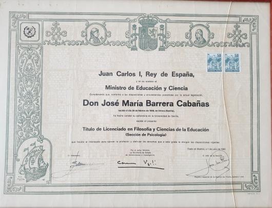 José María Barrera Cabañas  - Multimedia