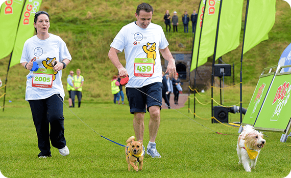 Run for charity at Dog Jog Southampton