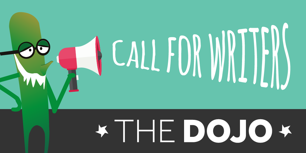 Dojo call for writers twitter