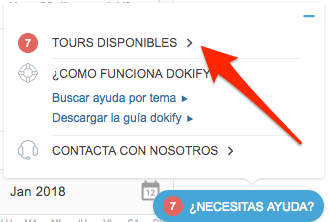 Tours disponibles dokify