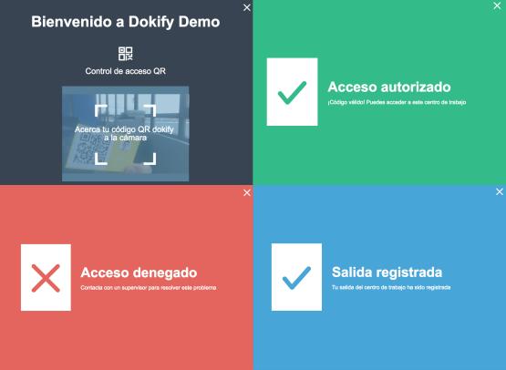 control de acceso dokify