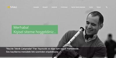 Ali Tüfekçi websitesi