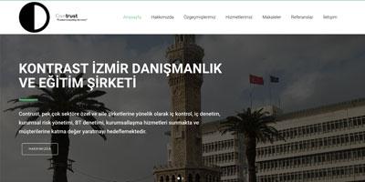 Contrust İzmir Danışmanlık ve Eğitim Şirketi websitesi