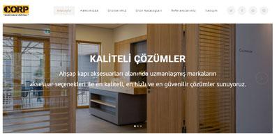 Corp Mimari websitesi