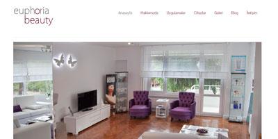 EUPHORIA BEAUTY websitesi