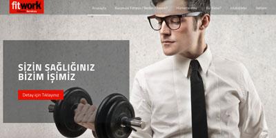 Fitwork Sportif Hizmetler  websitesi