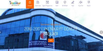 İremnur Anaokulu websitesi