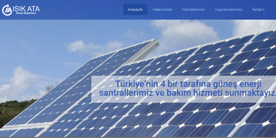 Işık Ata Enerji  websitesi