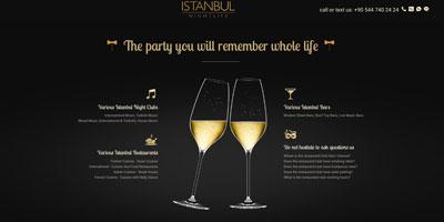 İstanbul Nıght Lıfe  websitesi