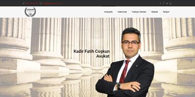 Kadir Fatih Coşkun websitesi