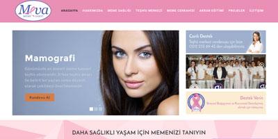 Türkiye Meme Vakfı  websitesi