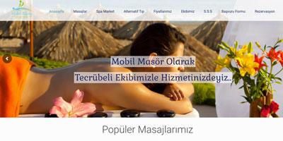 Mobil Masaj  websitesi