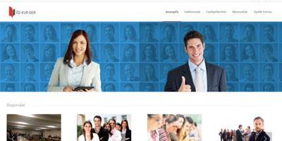 ÖZ-KUR-DER websitesi