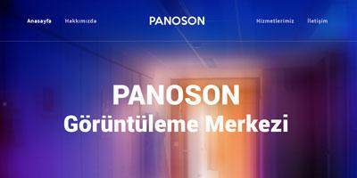 Panoson Görüntüleme Merkezi websitesi