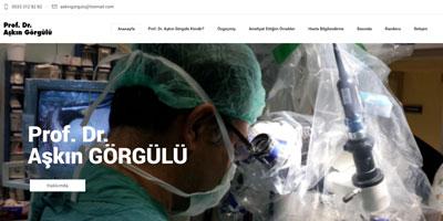 Prof. Dr. Aşkın Görgülü websitesi