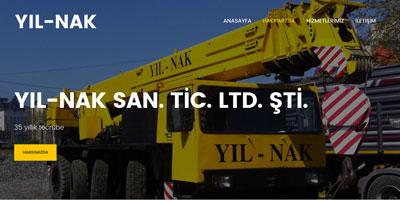 YIL-NAK SAN. TİC. LTD. ŞTİ. websitesi
