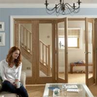 JELD-WEN Oak Room Dividers