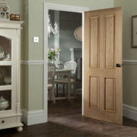 JELD-WEN 44mm Oak Fire Doors