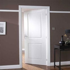 WHITE PRIMED INTERNAL FIRE DOORS