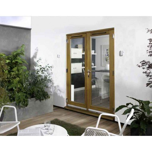 Jeld Wen 1 2m Canberra Oak French Doorset Doorsdirect2u