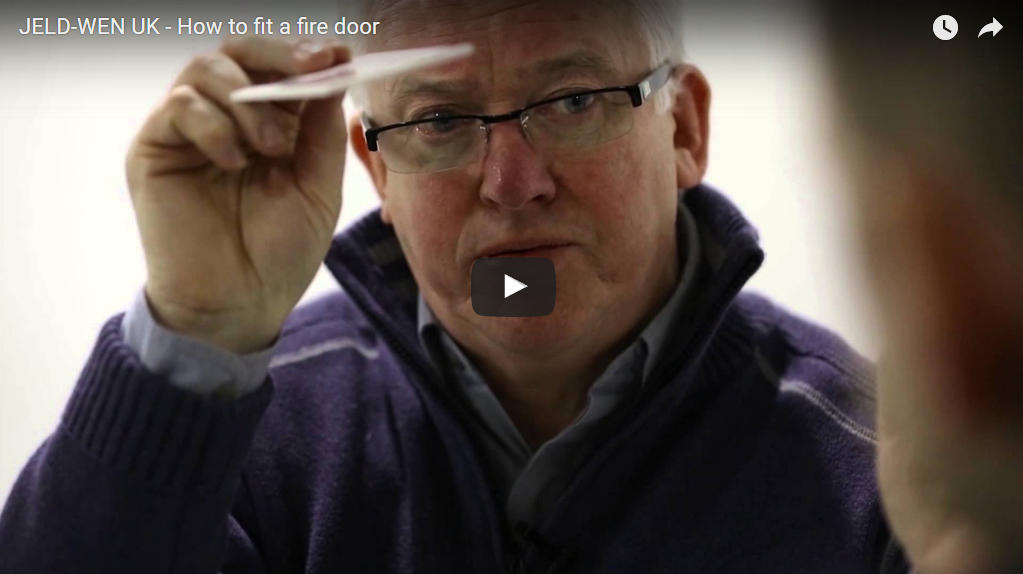 DoorsDirect2u JELD-WEN UK - How to fit a fire door How to Videos