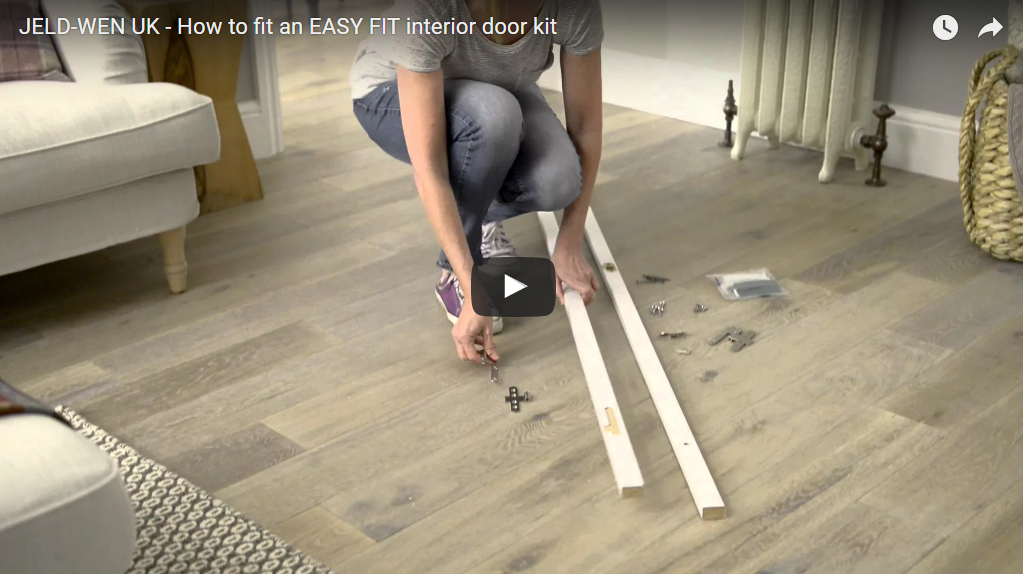DoorsDirect2u JELD-WEN UK - How to fit an EASY FIT interior door kit How to Videos