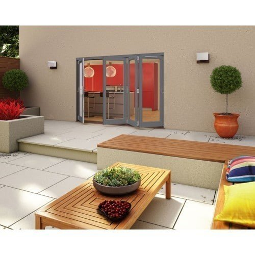 DoorsDirect2u JELD-WEN 3000MM Darwin Hardwood Folding Patio Doors