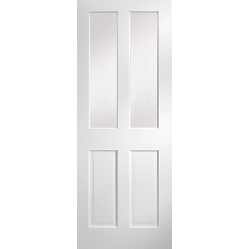 DoorsDirect2u JELD-WEN Avesta 2 Lite Primed Clear Glazed