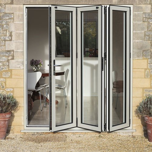 DoorsDirect2u Aluminium 3 Door Bi-fold Patio Doorset