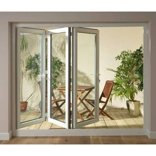 DoorsDirect2u 2400MM PVCu Folding Patio Doors Left Hand Hinged