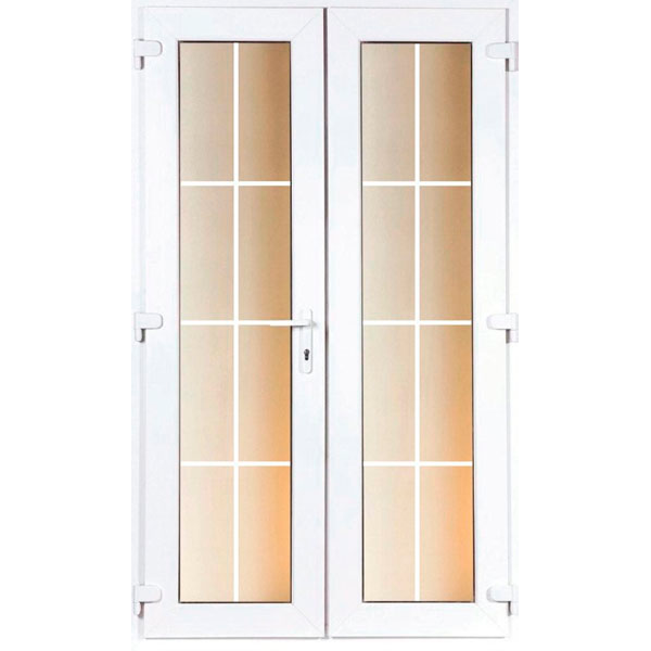DoorsDirect2u 1200MM PVCu Georgian French Doors