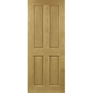 DoorsDirect2u Deanta Bury Oak Prefinished Internal Fire Door
